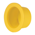 Thick Wide Flange Tapered Plug Caps